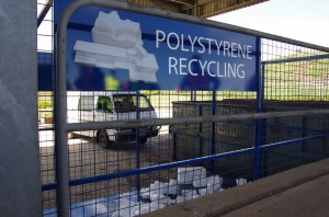 Polystyrene recycling in Australia