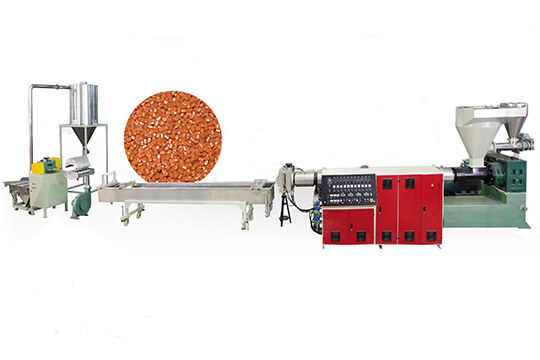 EPS/PET/PE/PP strand die pelletizing system