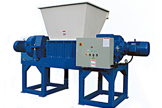 Two shaft shredder