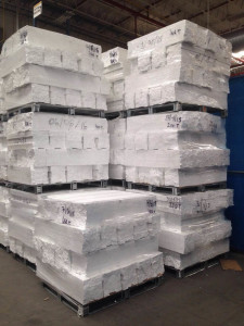 EPS cold compactor in an electronics manufacturer in US - VITA