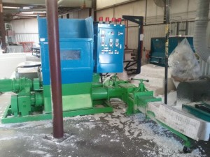 EPS hydraulic compactor in an EPS manufacturer in US - VITA