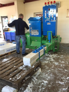fish box compacting